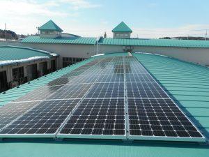 修光園サテライト様太陽光発電設備